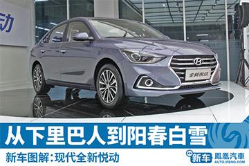 新车图解:北京现代全新悦动